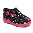 Dětské sandálky RenBut modré s puntíkem