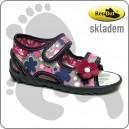Dětské sandálky RenBut kvítka