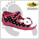 Dětské sandálky RenBut puntík