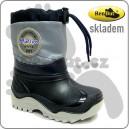 Dětské sněhule/zimní boty RenBut granat